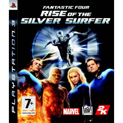 Fantastic 4: Rise of the Silver Surfer [PS3, английская версия]