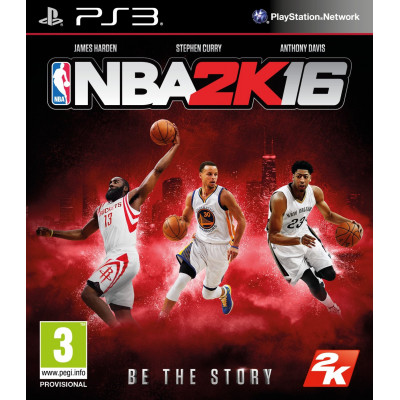 NBA 2K16 [PS3, английская версия]