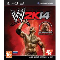 WWE 2K14 [PS3, русская документация]