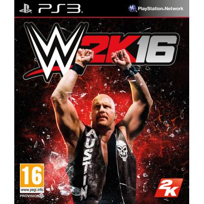 WWE 2K16 [PS3, русская документация]