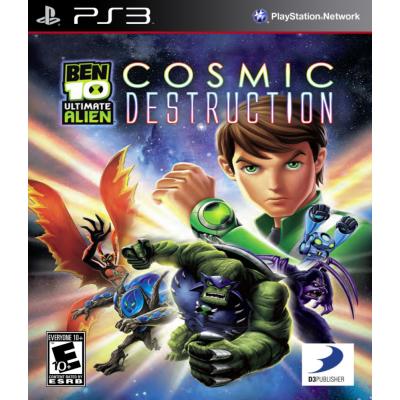 Ben 10: Ultimate Alien: Cosmic Destruction [PS3, английская версия]
