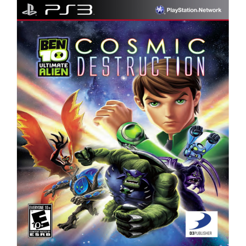 Коды Ben 10 Ultimate Alien Cosmic Destruction Psp