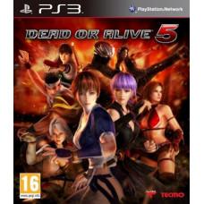 Dead or Alive 5 [PS3, английская версия]