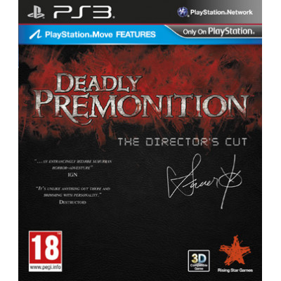 Deadly Premonition: The Director`s Cut [PS3, английская версия]
