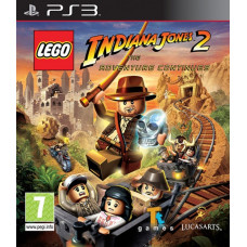 LEGO Indiana Jones 2: the Adventure Continues [PS3, английская версия]
