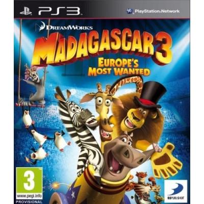Мадагаскар 3 [PS3, русские субтитры]