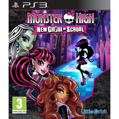 Monster High: New Ghoul in School [PS3, английская версия]