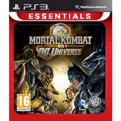 Mortal Kombat Vs DC Universe (Essentials) [PS3, английская версия]