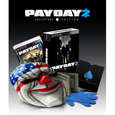 Payday 2. Collector's Edition [PS3, Xbox 360, американская версия]