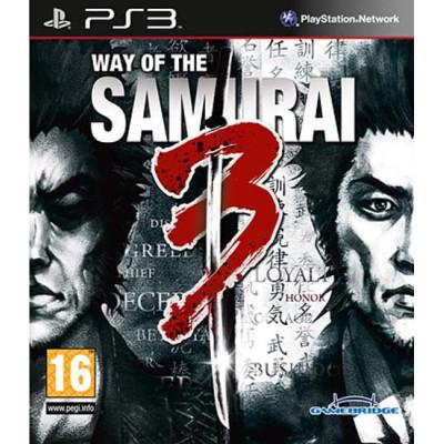 Way of the Samurai 3 [PS3, английская версия]