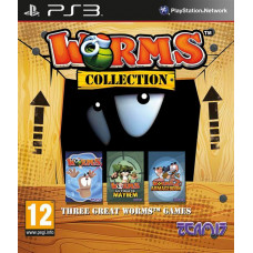 Worms Collection [PS3, английская версия]