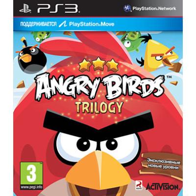 Angry Birds Trilogy (с поддержкой PS Move) [PS3, английская версия]