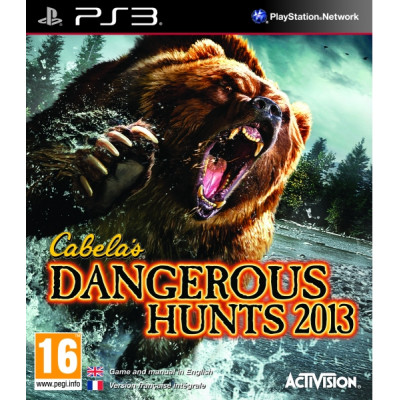 Cabela's Dangerous Hunts 2013 [PS3, английская версия]