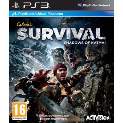 Cabela's Survial: Shadows of Katmai (с поддержкой PS Move) [PS3, английская версия]