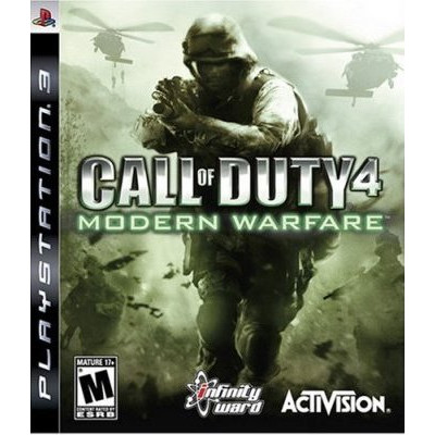 Call of Duty 4: Modern Warfare [PS3, русская документация]