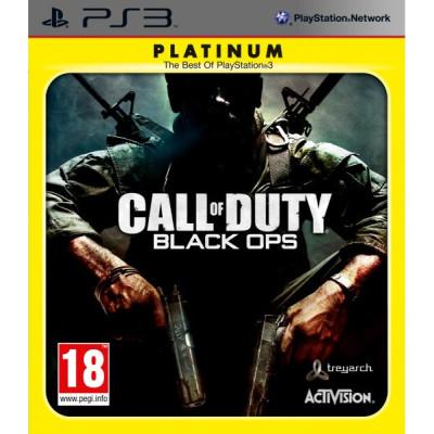 Call of Duty: Black Ops (c поддержкой 3D) (Platinum) [PS3, русская версия]