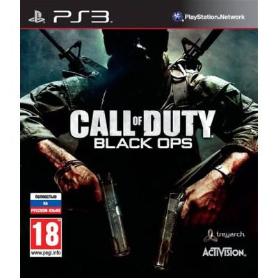 Call of Duty: Black Ops (c поддержкой 3D) [PS3, русская версия]