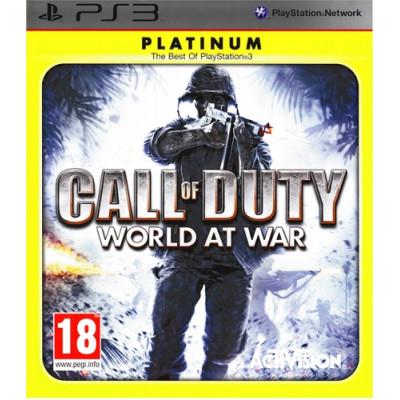 Call of Duty: World at War (Platinum) [PS3, русская версия]