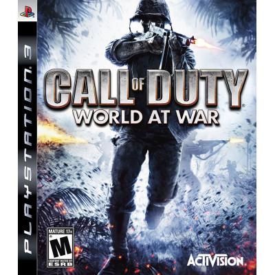 Call of Duty: World at War [PS3, английская версия]