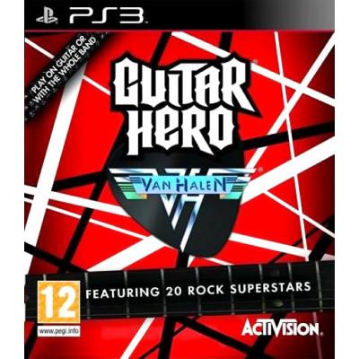 Guitar Hero Van Halen [PS3, английская версия]