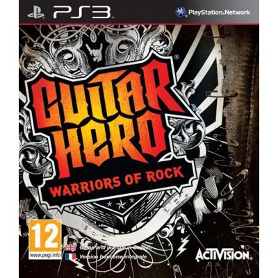 Guitar Hero: Warriors of Rock [PS3, английская версия]