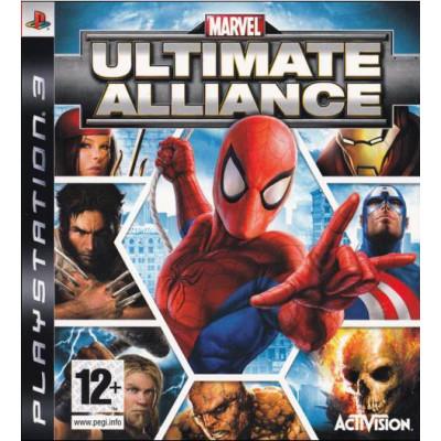 Marvel Ultimate Alliance [PS3, английская версия]