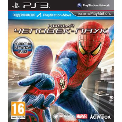 Новый Человек-паук (с поддержкой PS Move) [PS3, русская версия]