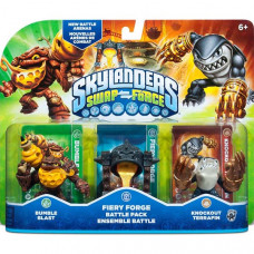 Набор интерактивных фигурок Skylanders Swap Force (Bumble Blast, Knockout Terrafin, Fiery Forge) [PS4, Xbox One, PS3, Xbox 360, 3DS, Wii]