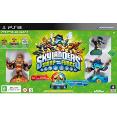 Стартовый набор Skylanders: Swap Force (игровой портал, игра, 3 фигурки - Blaste Zone, Wash Buckler, Ninja Stealth Elf) [PS3, русская версия]