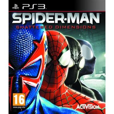Spider-Man: Shattered Dimensions [PS3, английская версия]