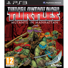 Teenage Mutant Ninja Turtles: Mutants in Manhattan [PS3, английская версия]