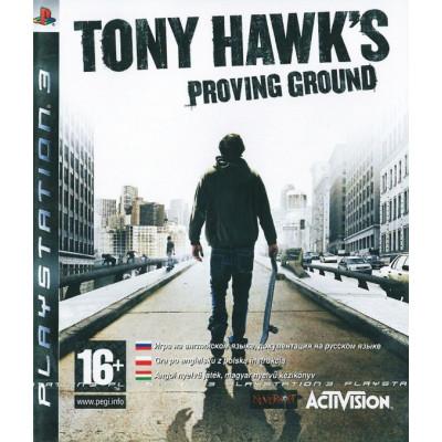 Tony Hawk's Proving Ground [PS3, английская версия]