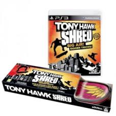 Tony Hawk: SHRED (Игра + беспроводной контроллер-скейт) [PS3, английская версия]