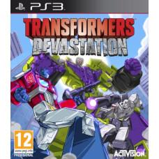 Transformers: Devastation [PS3, английская версия]