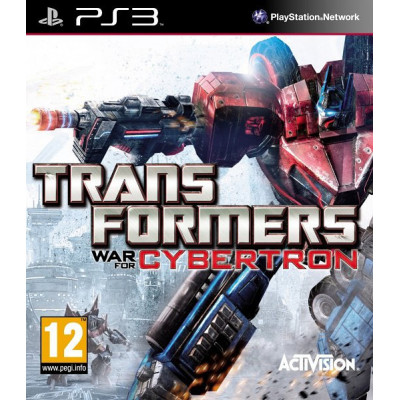 Transformers: War for Cybertron [PS3, английская версия]