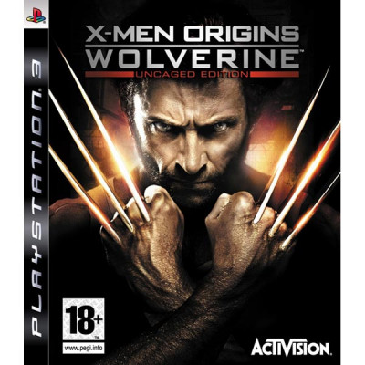 X-Men Origins: Wolverine. Uncaged Edition [PS3, английская версия]