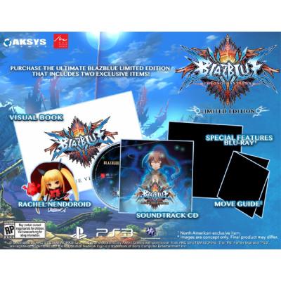 BlazBlue: Chrono Phantasma. Limited Edition [PS3, английская версия]
