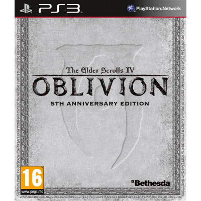 The Elder Scrolls IV: Oblivion 5th Anniversary Edition [PS3, английская версия]