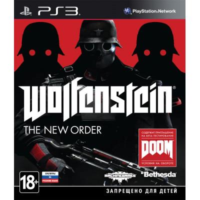 Wolfenstein: The New Order [PS3, русские субтитры]