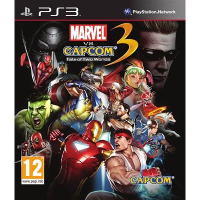 Marvel vs Capcom 3: Fate of Two Worlds [PS3, английская версия]