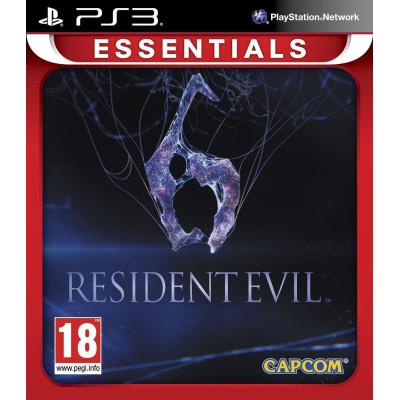 Resident Evil 6 (Essentials) [PS3, русские субтитры]