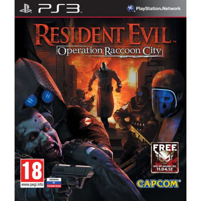 Resident Evil: Operation Raccoon City [PS3, русские субтитры]