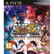 Super Street Fighter IV Arcade Edition [PS3, английская версия]