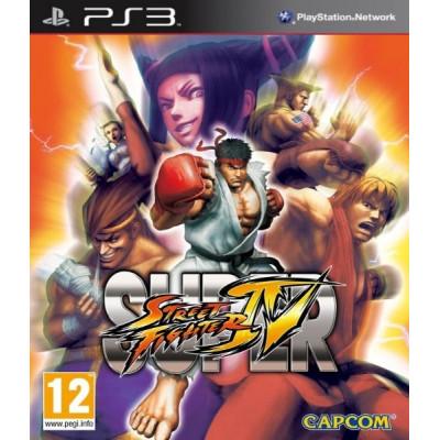 Super Street Fighter IV [PS3, английская версия]