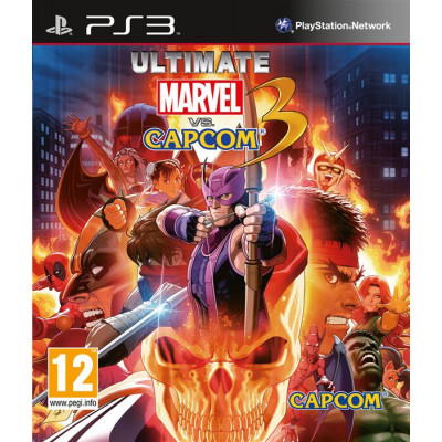 Ultimate Marvel vs Capcom 3 [PS3, английская версия]