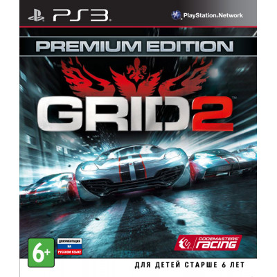 GRID 2. Premium Edition [PS3, русская документация]