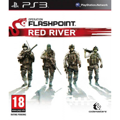 Operation Flashpoint: Red River [PS3, русская документация]