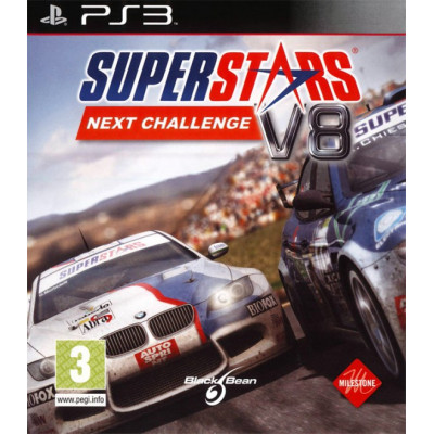 Superstars V8 Racing: Next Challenge [PS3, английская версия]