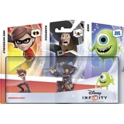 """Disney: Infinity - Набор """"3 Персонажа"""": """"Добрые герои"""" (Майк Вазовски, Барбосса, Миссис Исключительная) [PS3, Xbox 360]"""