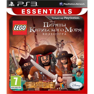 Disney LEGO: Пираты Карибского моря (Essentials) [PS3, русская версия]